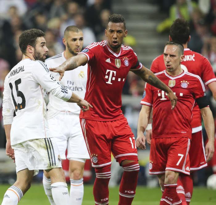 Jérôme Boateng sépare Franck Ribéry et Daniel Carvajal