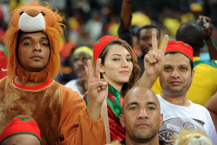 Supporters du Maroc