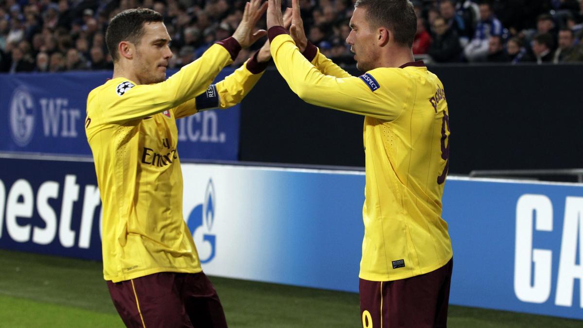 Thomas Vermaelen & Lukas Podolski, Arsenal