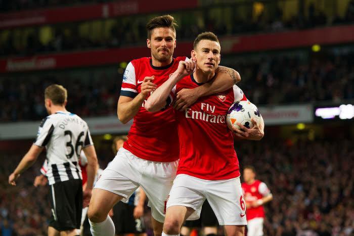 Olivier Giroud, Laurent Koscienly, Arsenal