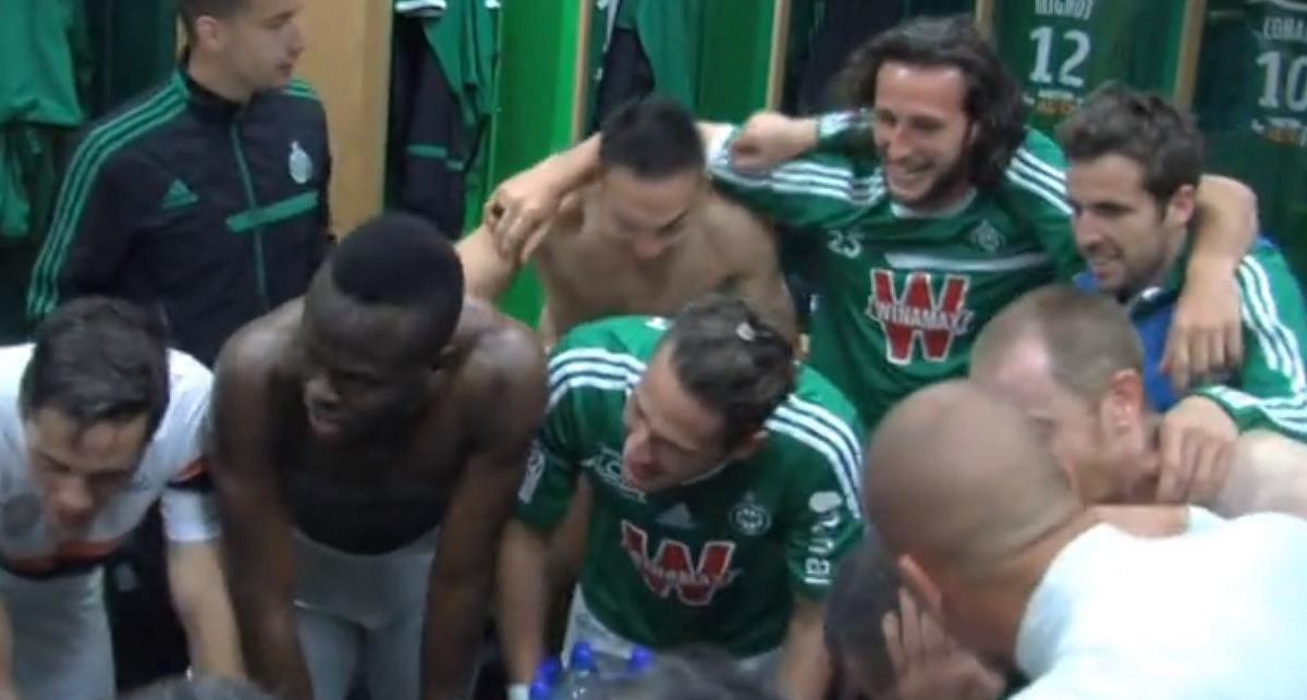 La joie des Verts après ASSE - Montpellier (vidéo)