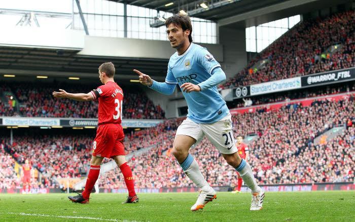 David Silva, Manchester City
