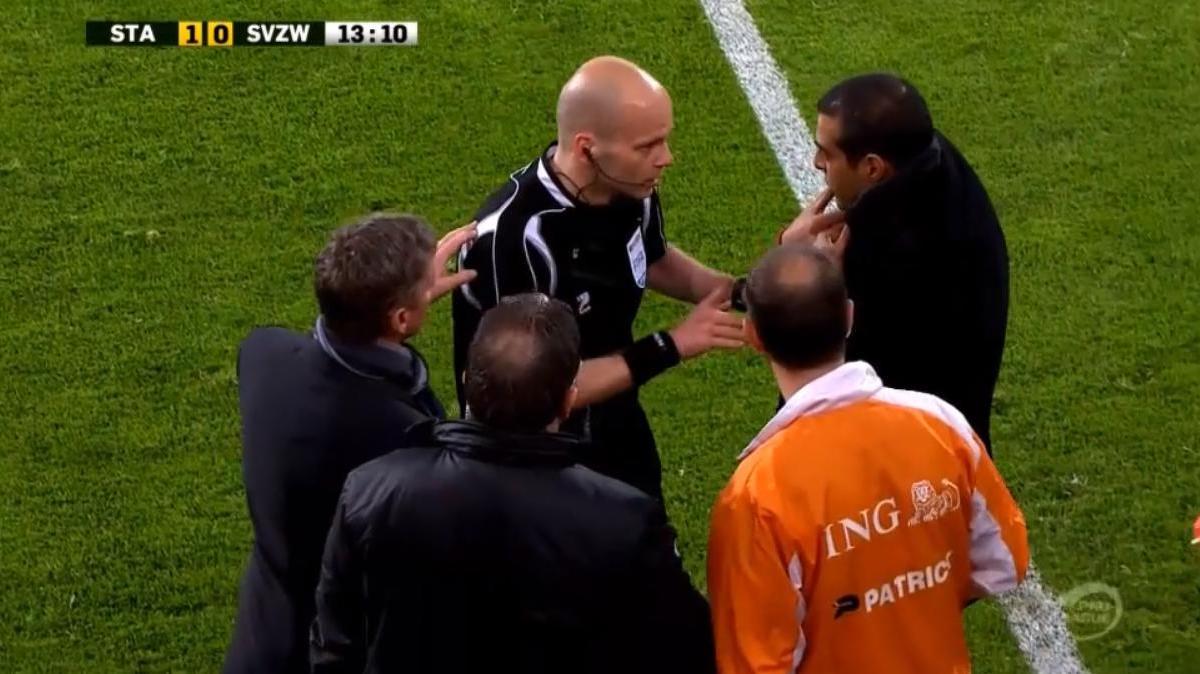 Belgique - Insolite : Il se prend pour l'arbitre (vidéo)