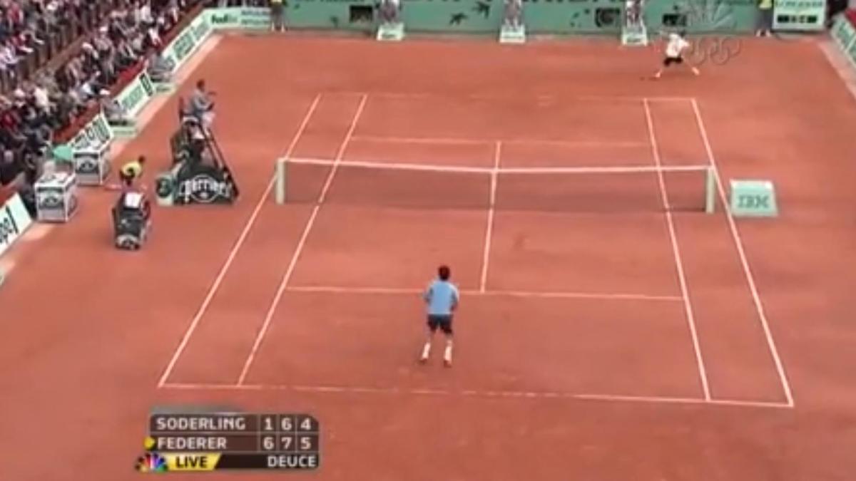 Tennis - Roland Garros 2009 : Federer définitivement dans l'histoire (vidéo)