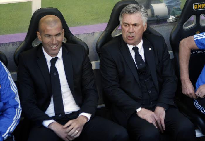 Zinedine Zidane - Carlo Ancelotti