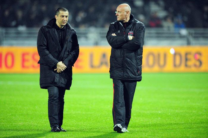 Mourad Boudjella & Bernard Laporte, RC Toulon
