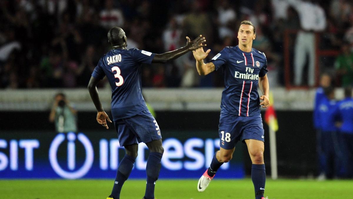 Mamadou Sakho & Zlatan Ibrahimovic