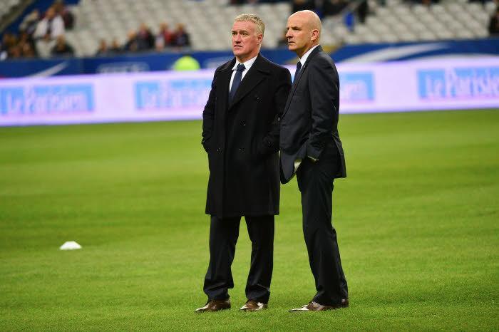 Didier Deschamps et Guy Stéphan, Équipe de France