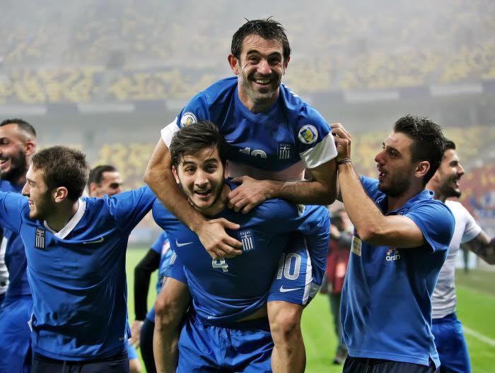 Les joueurs grecs