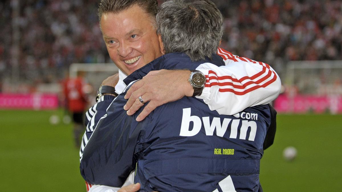 Louis van Gaal - José Mourinho