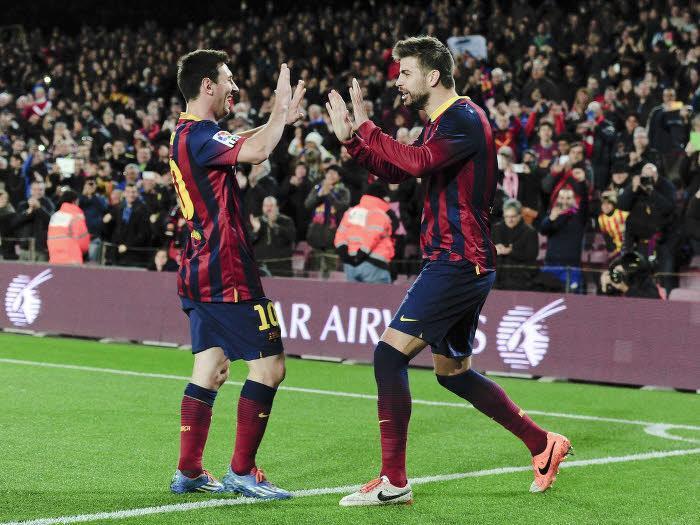 Gérard Piqué, Lionel Messi