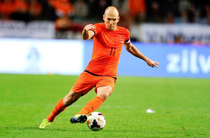 Arjen Robben, Pays-Bas