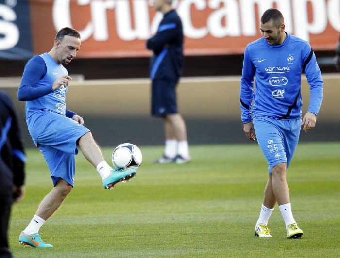 Franck Ribéry & Karim Benzema, France