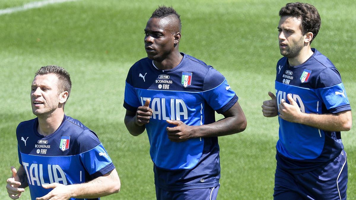 Coupe du monde Brésil 2014 : Mario Balotelli victime de racisme (vidéo)