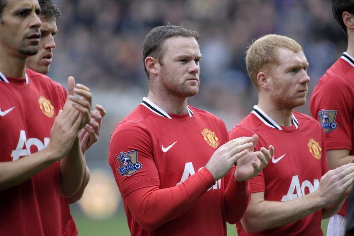 Wayne Rooney et Paul Scholes, Manchester United