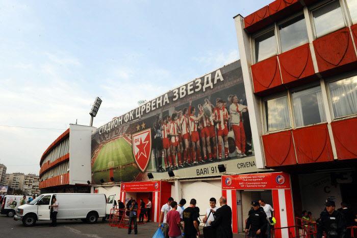 Stade Marakana, Étoile Rouge de Belgrade