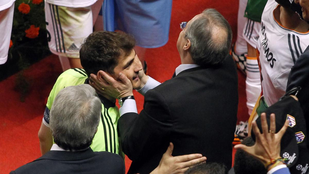 Florentino Pérez - Iker Casillas