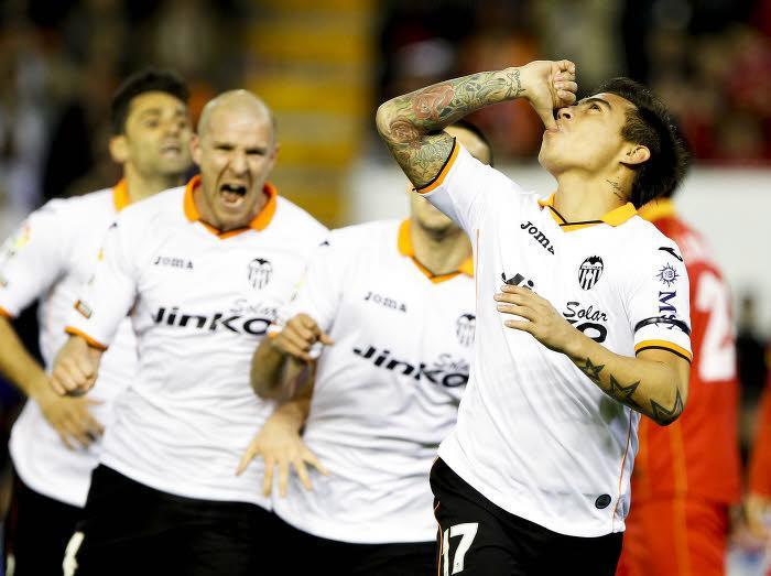 Eduardo Vargas, FC Valence