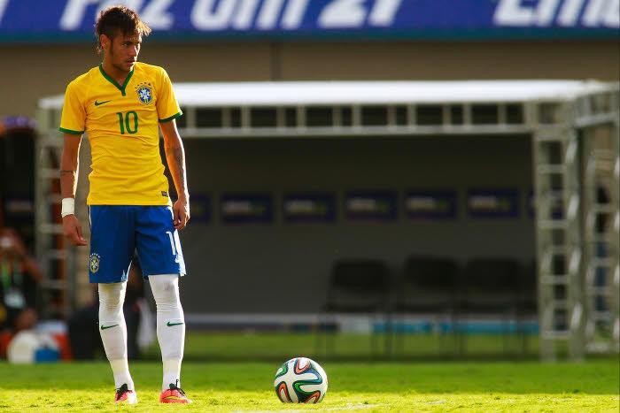 CDM 2014 : Le gros coup de gueule de Neymar !