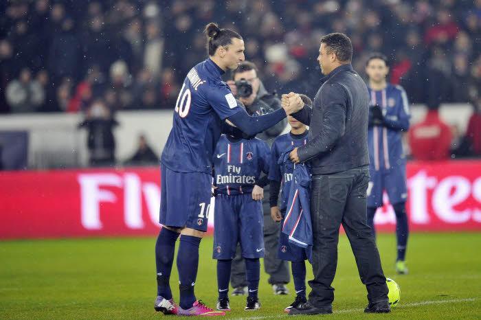 Ibrahimovic : «Il n'y aura jamais de meilleur joueur que Ronaldo»