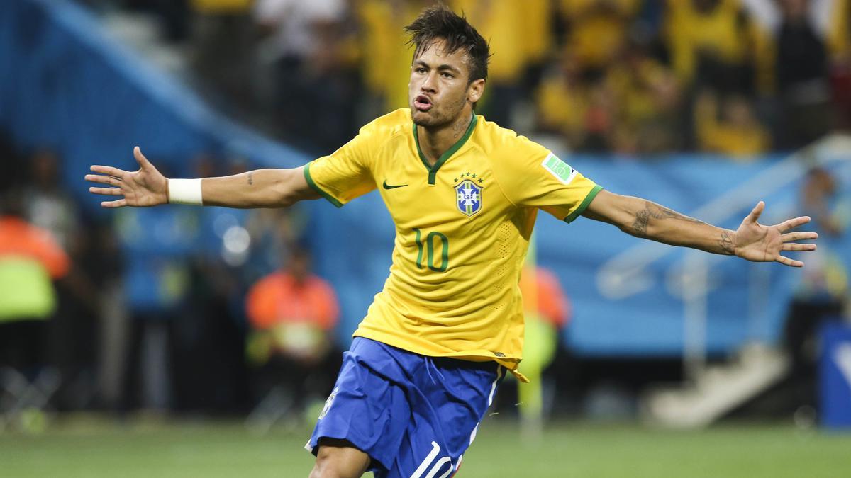 Coupe du monde 2014 coupe du monde br sil 2014 neymar hulk oscar riolo distribue les bons - Jeu de foot coupe du monde 2014 ...