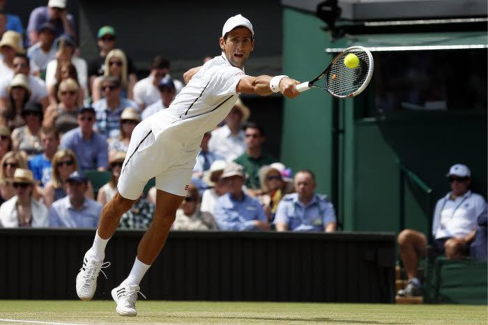 Tennis - Wimbledon : �a passe pour Djokovic