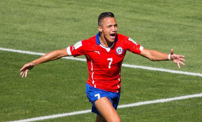 Alexis Sanchez, Chili