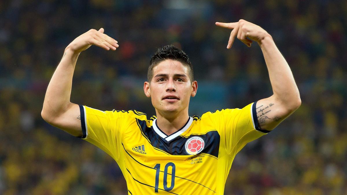 James Rodriguez, Colombie
