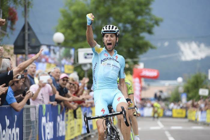 Cyclisme - Tour de France : Le grand numéro de Nibali !