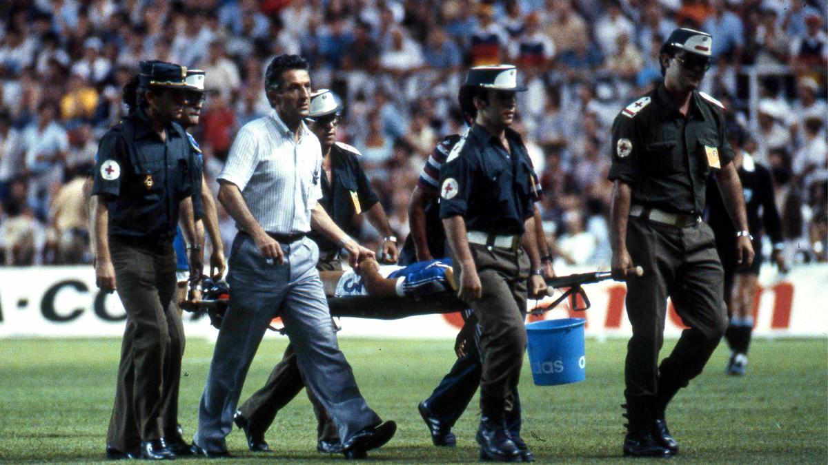 Quipe de france coupe du monde france allemagne l - Equipe de france 1982 coupe du monde ...