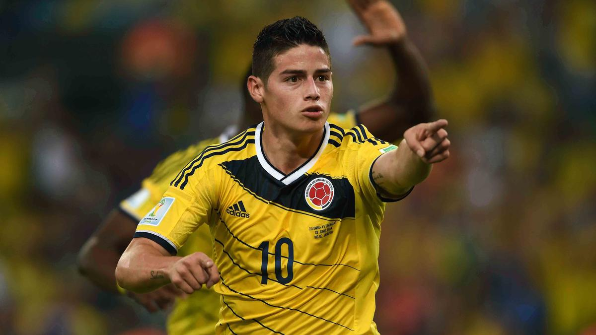 James Rodriguez, Colombie