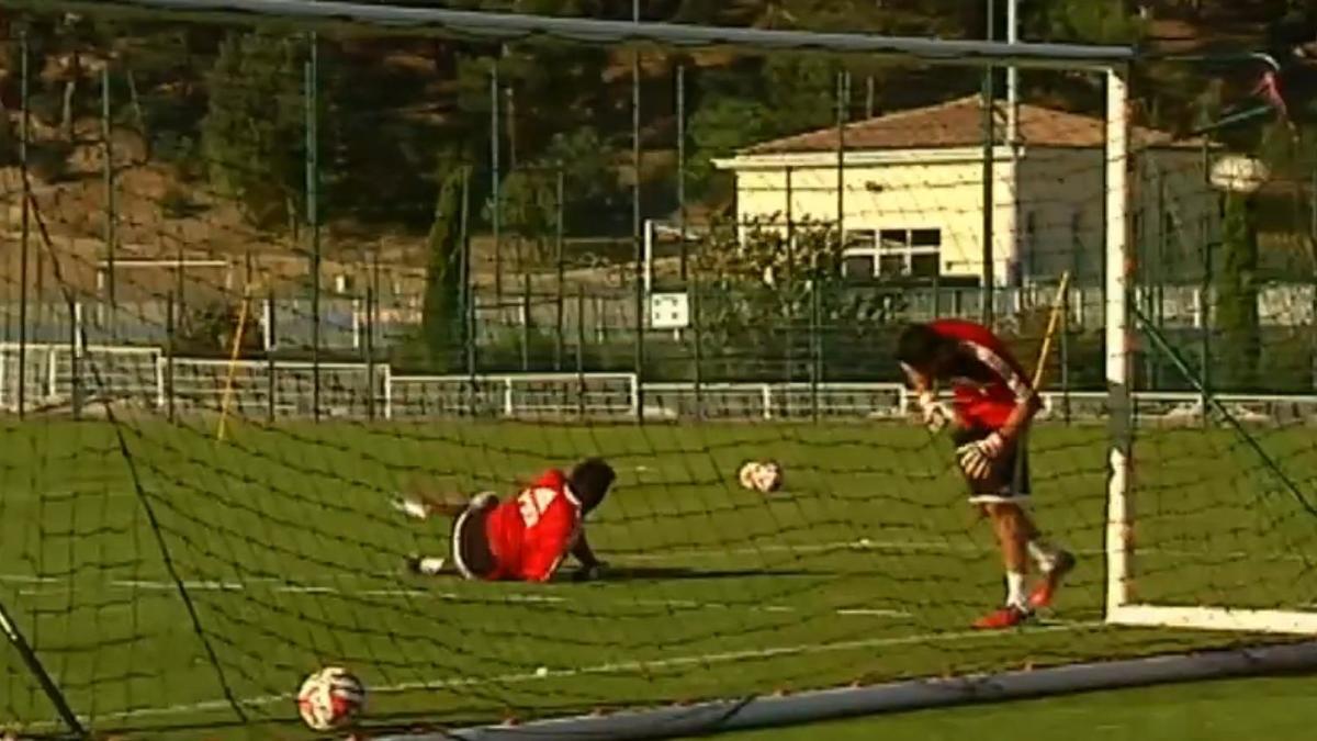 OM : Avalanche de buts à l'entraînement (vidéo)