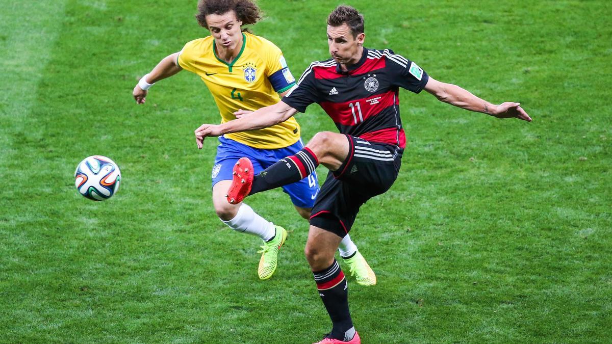 David Luiz, Brésil.