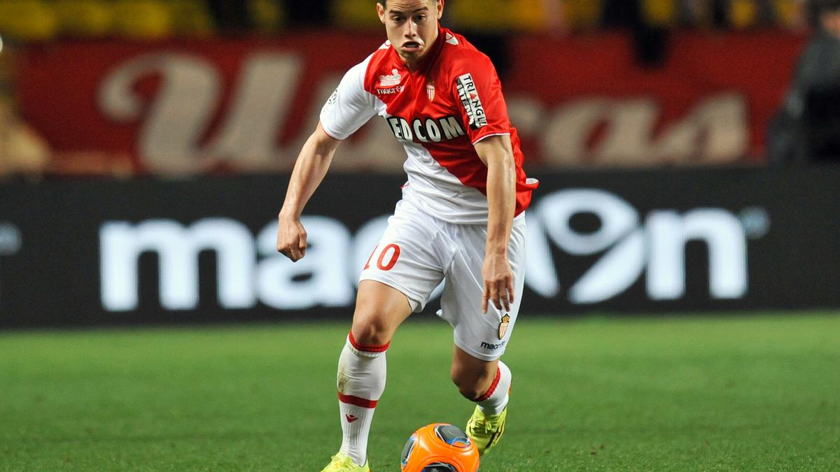 James Rodriguez, AS Monaco
