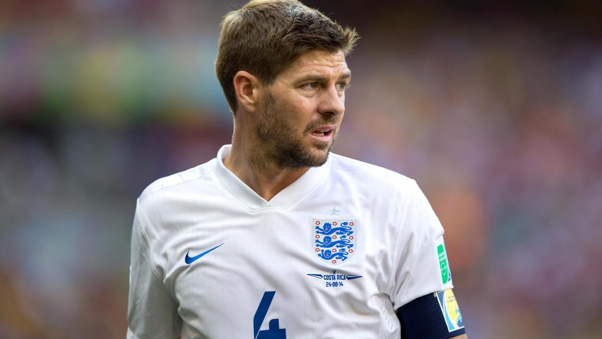 Steven Gerrard, Angleterre.