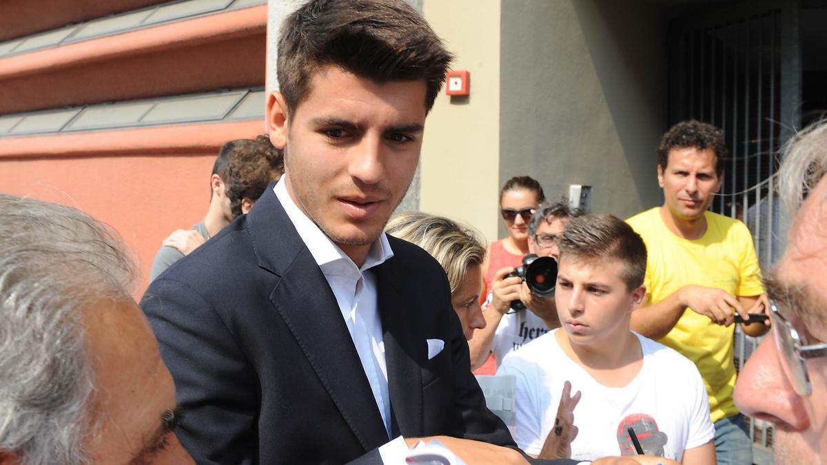 Alvaro Morata, Juventus.