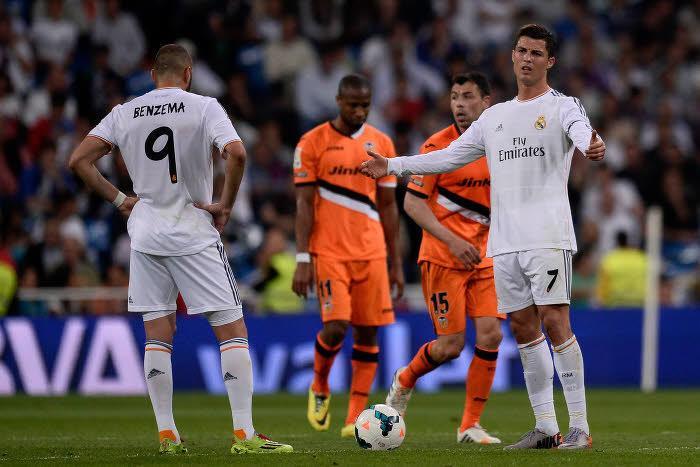 Ronaldo et Benzema au Real Madrid