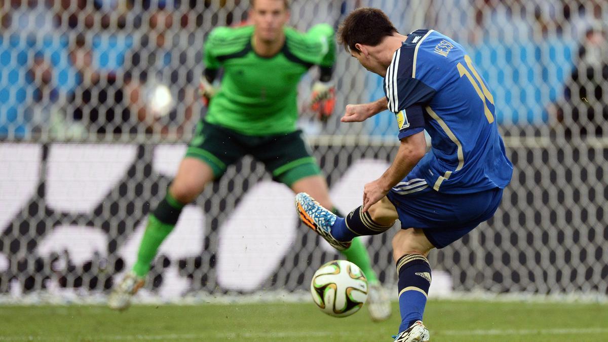Manuel Neuer et Lionel Messi