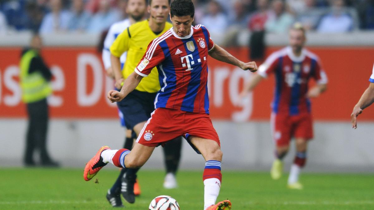 Bayern Munich : Le premier but de Robert Lewandowski ! (vidéo)
