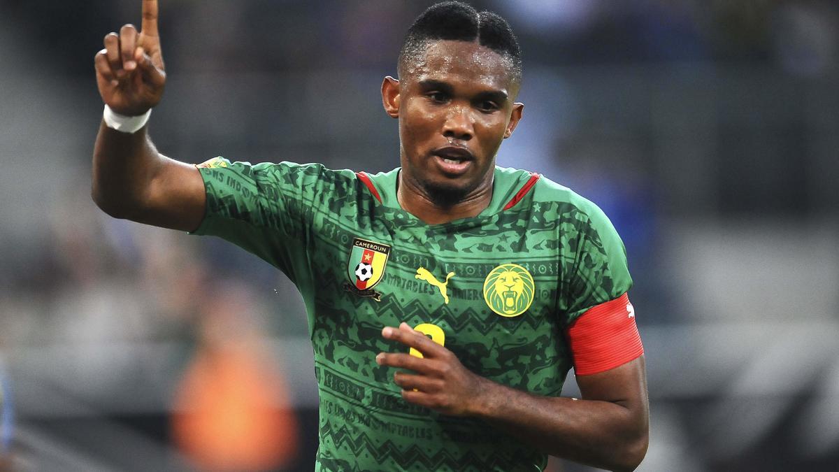 Samuel Eto'o, Cameroun.