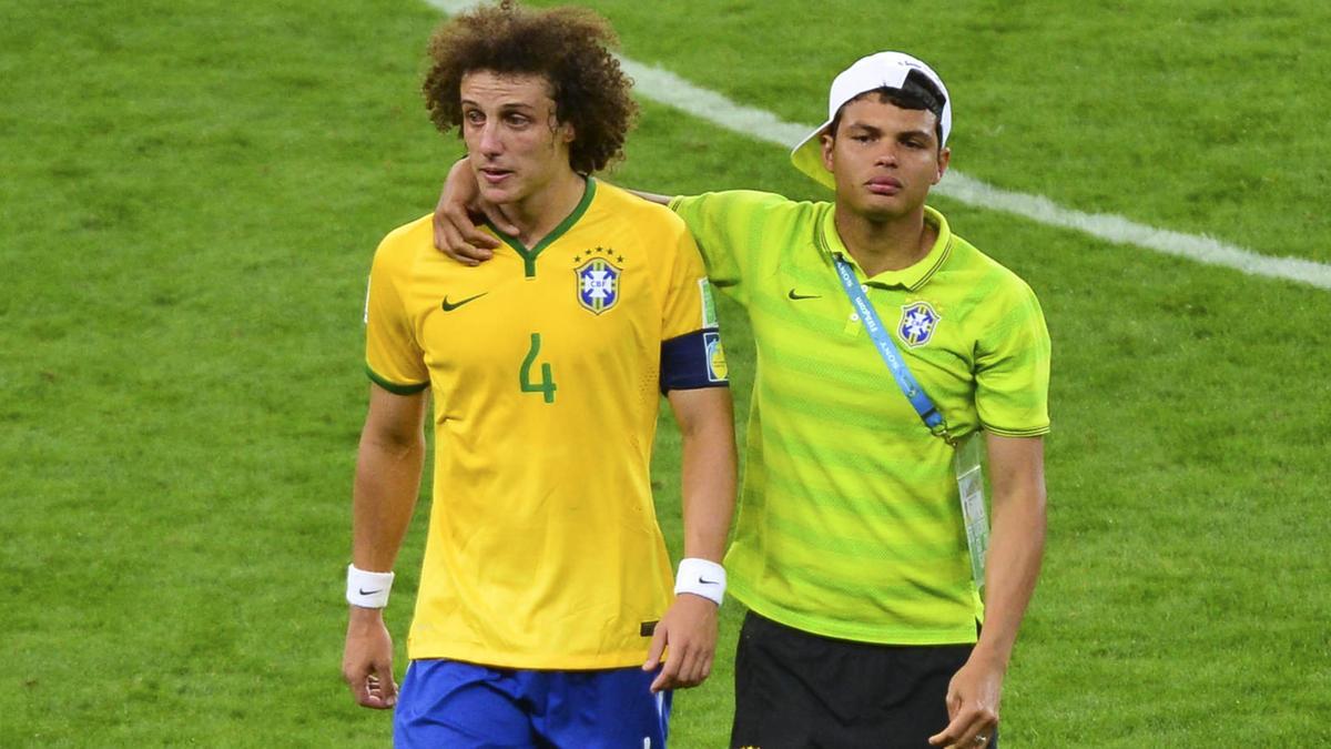 David Luiz - Thiago Silva, Brésil