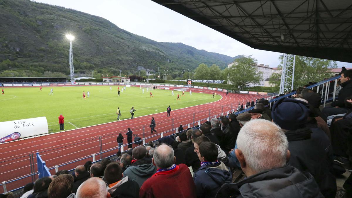 Stade Luzenac.