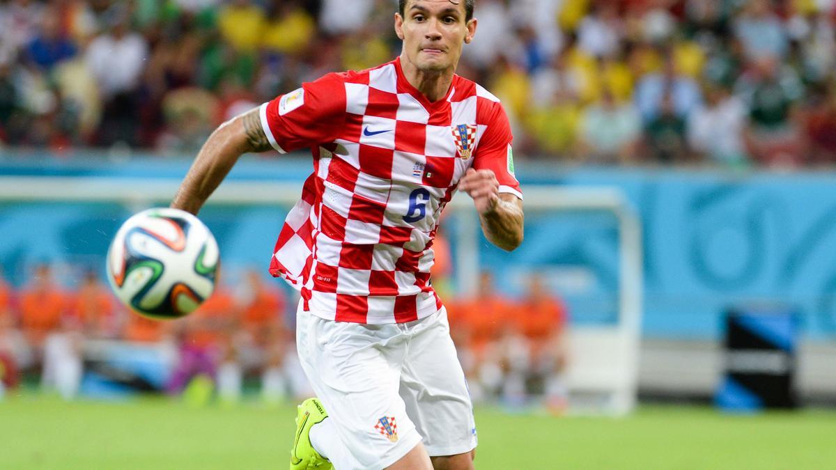 Dejan Lovren, Croatie.