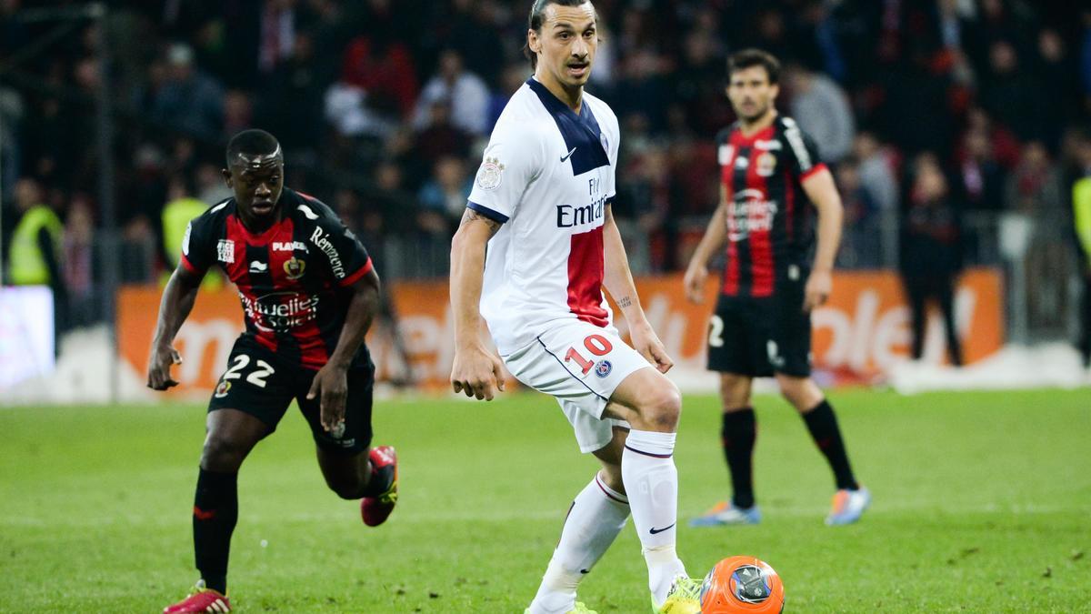 Zlatan Ibrahimovic, PSG.