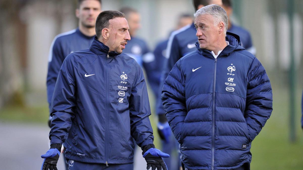 Franck Ribéry & Didier Deschamps