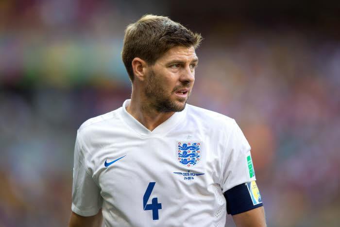 Steven Gerrard, Angleterre