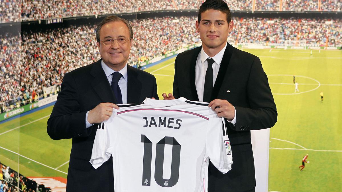 Florentino Pérez & James Rodriguez