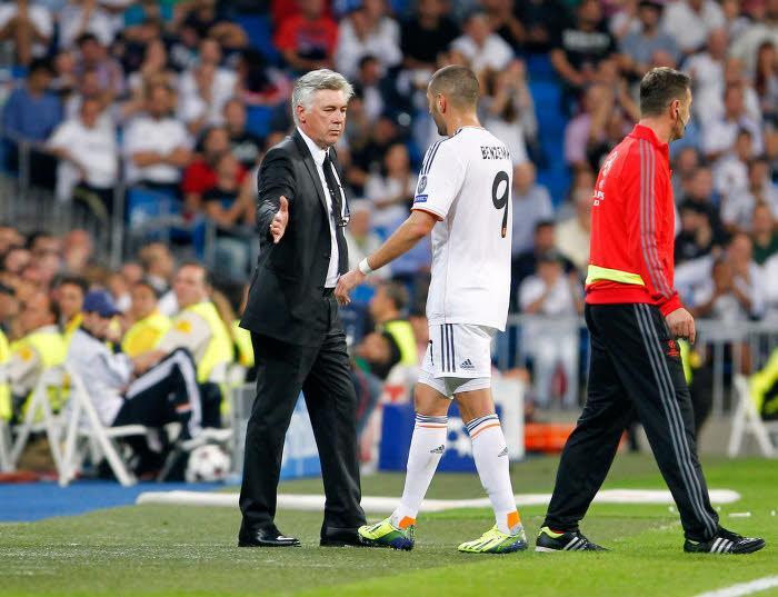 Carlo Ancelotti et Karim Benzema, Real Madrid