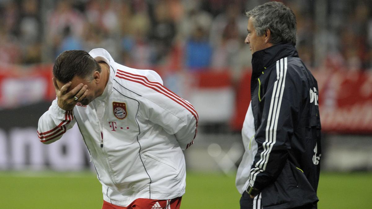 Van Gaal met en garde Mourinho !