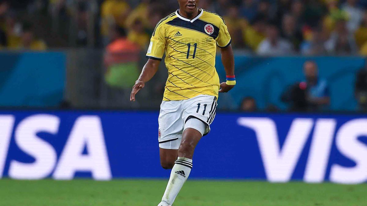 Juan Cuadrado, Colombie